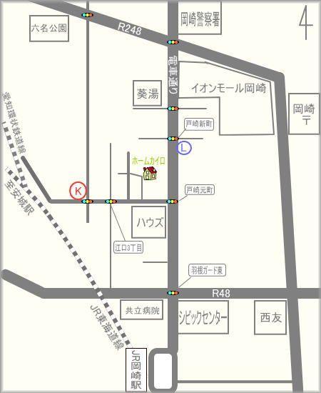 整体院ホームカイロ地図